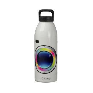 Fotografía del espectro botella de agua