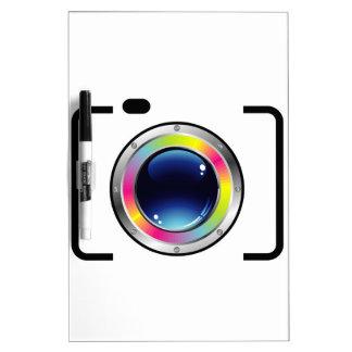 Fotografía del espectro pizarras blancas de calidad