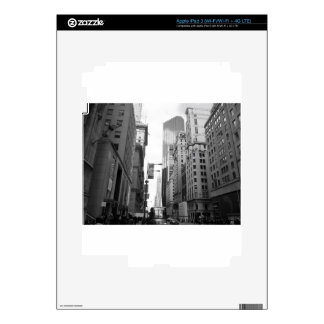 Fotografía del Grayscale de New York City Pegatina Skin Para iPad 3