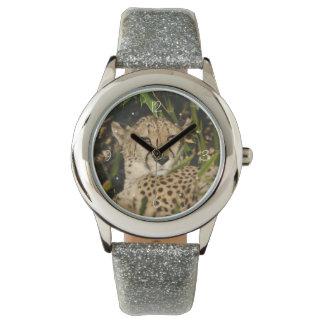 Fotografía del guepardo relojes de mano
