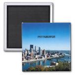 Fotografía del horizonte de Pittsburgh, Imán Cuadrado