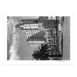 Fotografía del hotel de Long Beach, California Tarjeta Postal