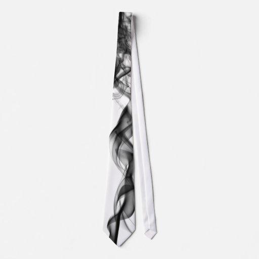 Fotografía del humo - lazo negro corbata personalizada