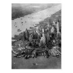 Fotografía del Lower Manhattan Tarjetas Postales