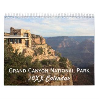 Fotografía del parque nacional del Gran Cañón Calendarios De Pared