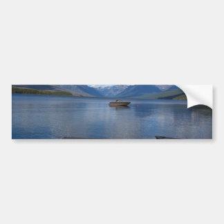 Fotografía del Parque Nacional Glacier Pegatina Para Auto