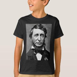 Fotografía del retrato de Henry David Thoreau Playera