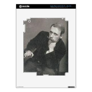 Fotografía del retrato de la grúa de Gualterio (18 iPad 3 Skins