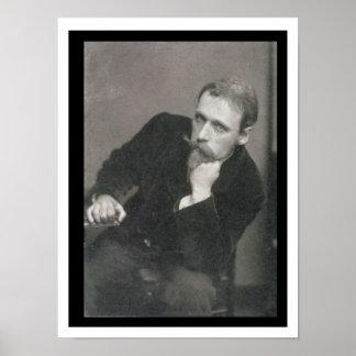 Fotografía del retrato de la grúa de Gualterio (18 Póster