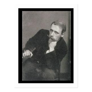 Fotografía del retrato de la grúa de Gualterio Postal