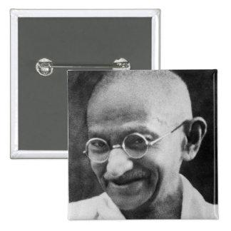 Fotografía del retrato de Mahatma Gandhi Pin