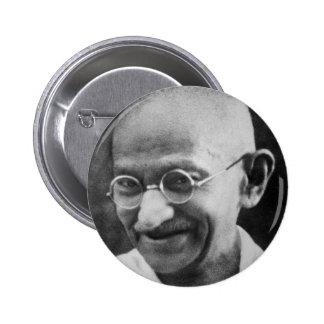 Fotografía del retrato de Mahatma Gandhi Pins