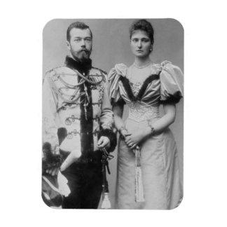Fotografía del retrato del Tsar Nicolás II (1868-1 Imanes Flexibles