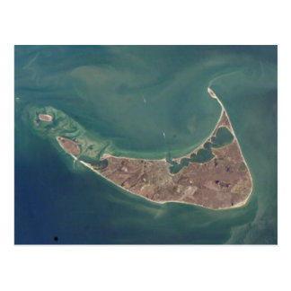 Fotografía del satélite de Nantucket Postales