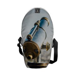 Fotografía del telescopio de la ciudad, visión bolsas de mensajeria