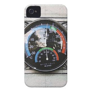 Fotografía del termómetro el | del tiempo Case-Mate iPhone 4 coberturas