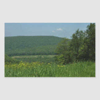 Fotografía del verano de Pennsylvania de las Pegatina Rectangular