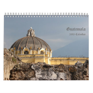 Fotografía del viaje de Guatemala Calendario