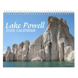 Fotografía del viaje de Powell del lago Calendarios
