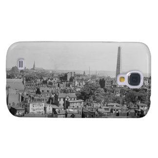 Fotografía del vintage de Charlestown Massachusett Funda Para Galaxy S4