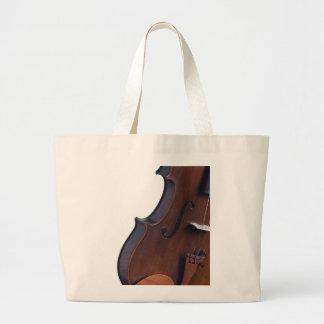 Fotografía del violín o de la viola bolsa tela grande