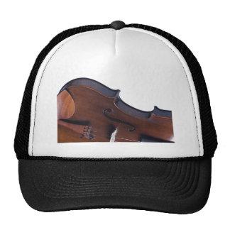 Fotografía del violín o de la viola gorras