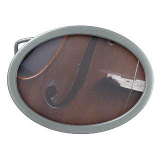 Fotografía del violín o de la viola hebilla de cinturon oval