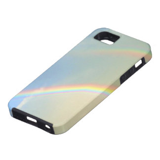 Fotografía doble del arco iris iPhone 5 carcasas