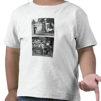 Fotografía en el campo común y para el alquiler camiseta