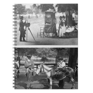 Fotografía en el campo común y para el alquiler qu libreta