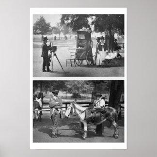 Fotografía en el campo común y para el alquiler qu impresiones