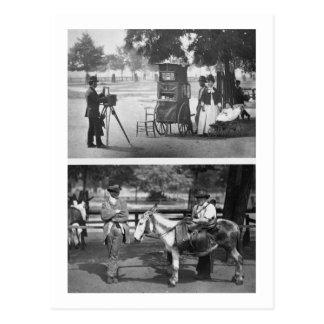 Fotografía en el campo común y para el alquiler qu tarjeta postal