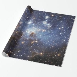 Fotografía estelar del espacio del cuarto de niños papel de regalo