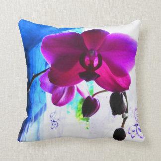Fotografía exótica asombrosa de la orquídea del Ph Cojines