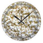 Fotografía festiva de la decoración de las reloj redondo grande