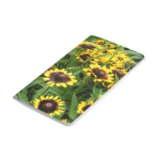 Fotografía floral Susans observado negro Cuadernos