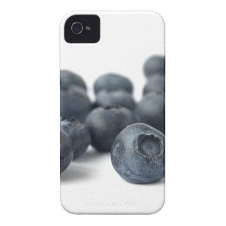 Fotografía fresca de los arándanos iPhone 4 Case-Mate cárcasa