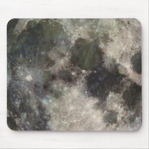 Fotografía Galileo de la luna de la superficie lun Tapetes De Raton