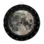 Fotografía Galileo de la Luna Llena Tablero De Dardos