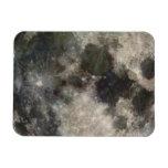 Fotografía Galileo de la superficie lunar de la lu Imán
