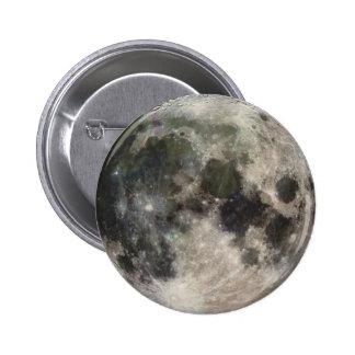 Fotografía Galileo de la superficie lunar de la lu Pins