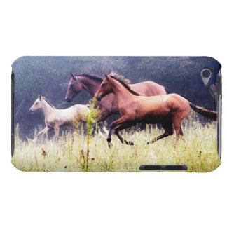 Fotografía galopante de los caballos iPod Case-Mate carcasas