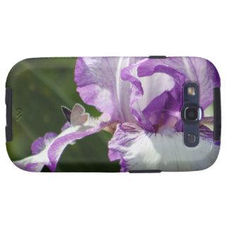 Fotografía generosa del iris de la mariposa galaxy SIII protectores