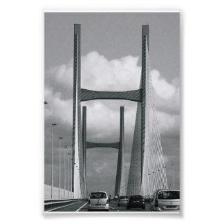 Fotografía H2 4x6 blanco y negro de la letra del Cojinete
