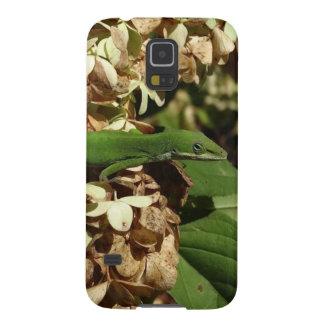 Fotografía impresionante del lagarto de Anole Funda Para Galaxy S5