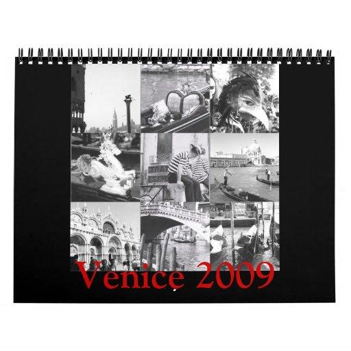 Fotografía italiana Venecia de la bella arte del Calendarios