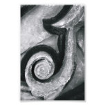 Fotografía J2 4x6 blanco y negro de la letra del a Impresion Fotografica