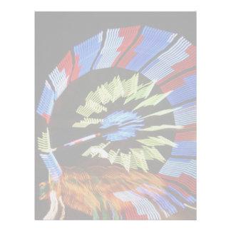 Fotografía justa colorida de la luz de neón del pa membretes personalizados