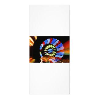 Fotografía justa colorida de la luz de neón del pa plantillas de lonas