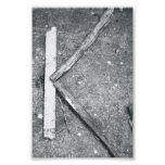 Fotografía K4 4x6 blanco y negro de la letra del a Arte Fotografico